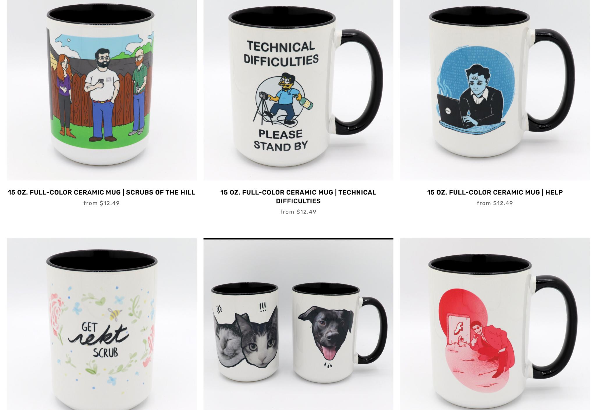 Level1Techs mugs and merchandise
