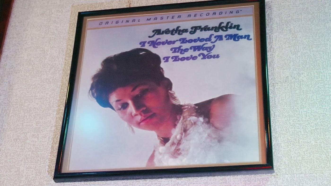 Aretha Franklin framed image