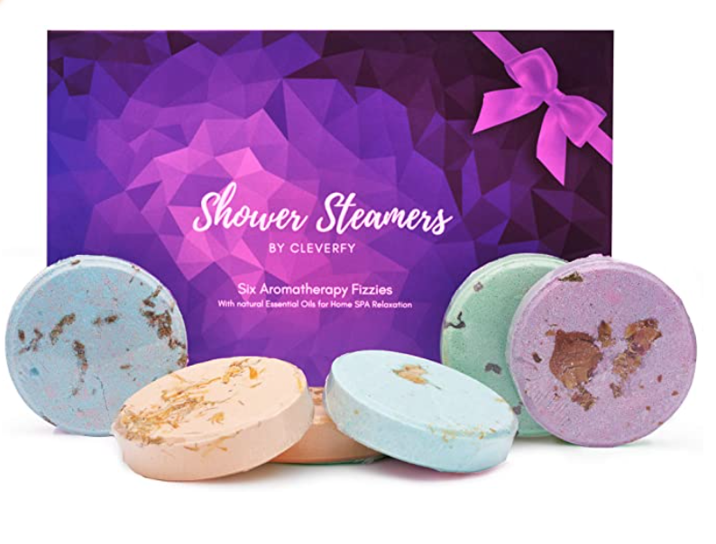 birthday gift ideas for her aromatherapy shower steamers